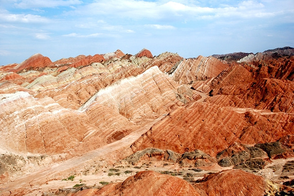 Zhangye Danxia National Geopark in Gansu