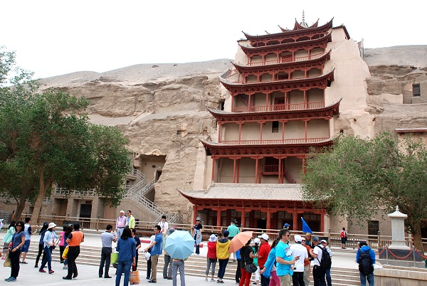 Mogao-Grotten in Dunhuang