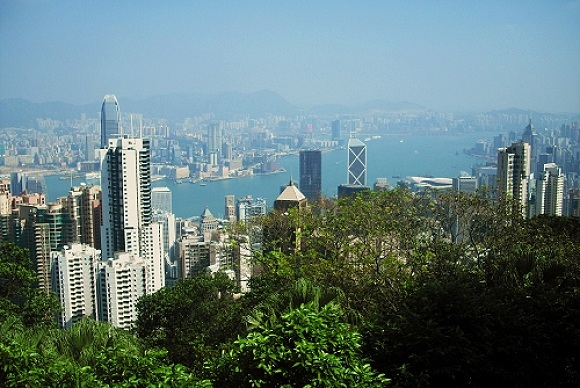 Victoria Peak in Hongkong