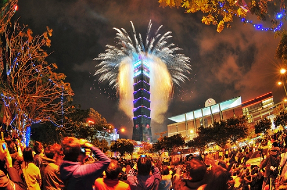 Silvester in Taipei