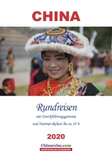 Reisekatalog China Rundreisen 2020 Chinareise.com